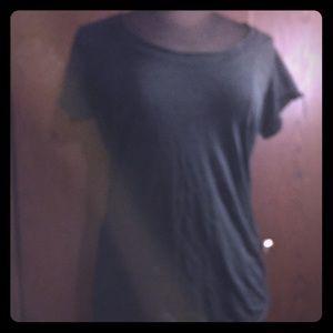 Vanity Tops - 🌹Vanity burnout shirt sleeve top🌹