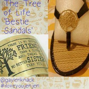 Mud Pie Shoes - Tree of Life 'Bestie Sandals'