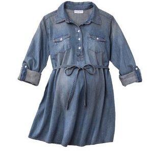 Maternity Button Down Tunic