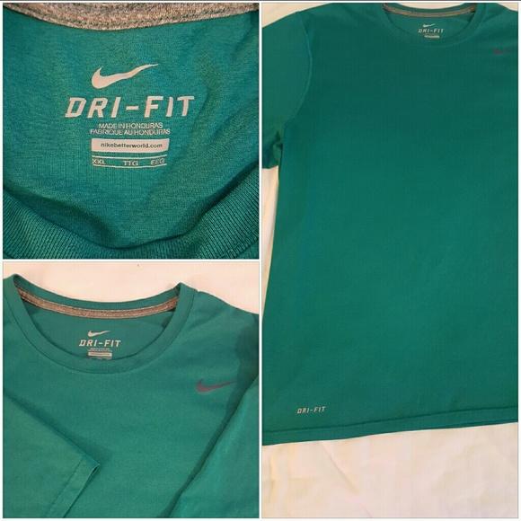 Men's NIKE DRI-FIT Athletic Tee Shirt XXL.