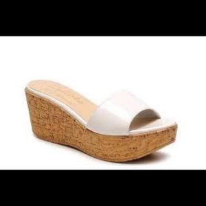 Callisto Shoes - Callisto of California Desseye Wedge Sandal