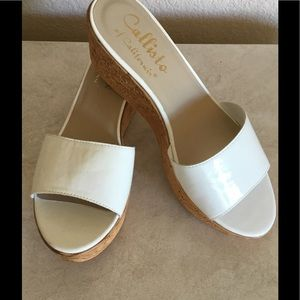 Callisto Shoes - Callisto of California Desseye Wedge Sandal