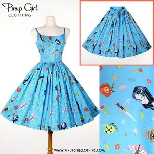 ModCloth Dresses & Skirts - Pinup Couture Jenny Dress SIZE LARGE Snow White 🍎
