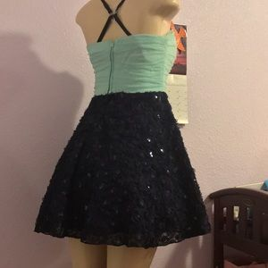 WINDSOR Dresses & Skirts - WINSOR NWOT:|Turquoise &Navy Princess Gown.Sz:7/8.