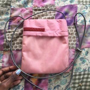 Prada Handbags - Prada Nylon & Latex Crossbody Bag