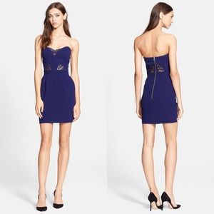 The Kooples Dresses & Skirts - NWOT The Kooples Lace Inset Strapless Sheath Dress
