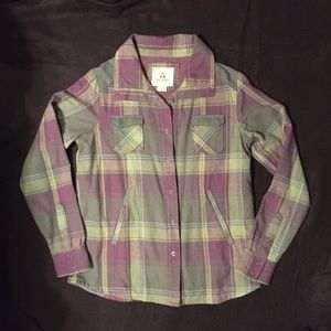 ascend Tops - NWOT Ascend Flannel Long Sleeve Button-Up