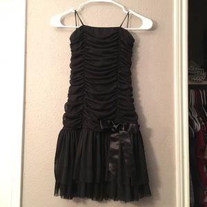 a'gaci Dresses & Skirts - Black Cocktail Dress w/ Bow