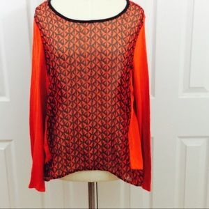 Two by Vince Camuto Tops - Two by Vince Camuto high low long sleeve top L