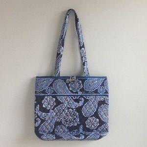 Blue Paisley Vera Bradley Bag