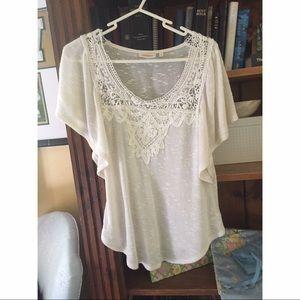 Anthropologie Tops - Anthro Deletta White Shirt