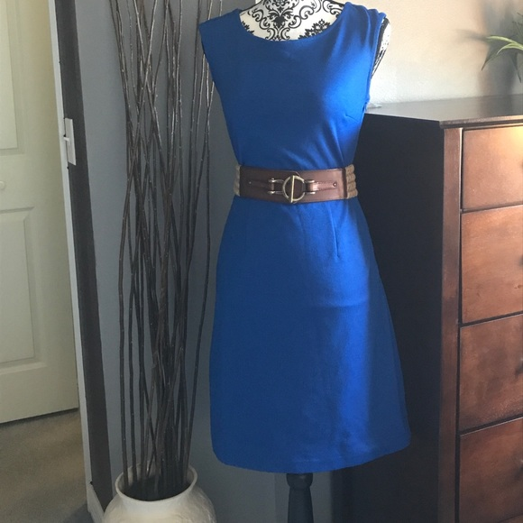 76 dresses skirts limited royal blue dress with