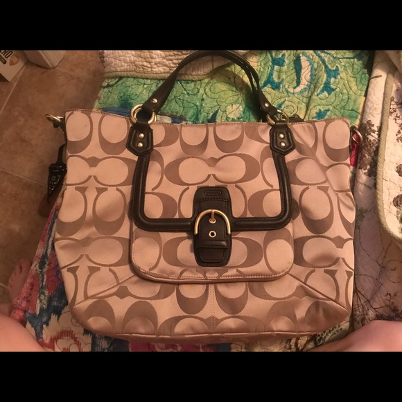 Coach Handbags - Coach laptop/Student handbag