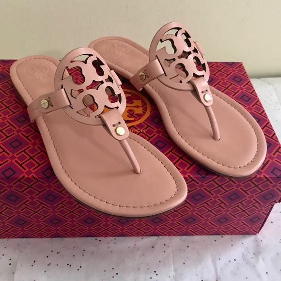 1dc55a0324d67 🌸💕Tory Burch Clay Pink Miller Sandals