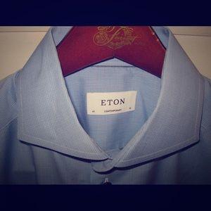 Eton Other - ETON Contemporary Fit Check Poplin 16 41