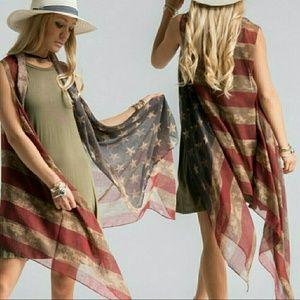 Fashionomics Accessories - *Arriving this Week* Americana Vest