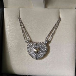 💕 Heart of gold necklace