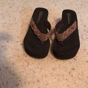 Cobian Shoes - Platform flip flops