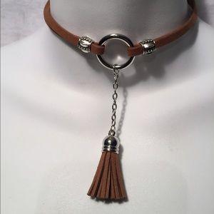 Jewelry - Tassel Chokers 4 Colors