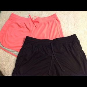 Danskin Now Pants - 2 pair Danskin now Dri more shorts large