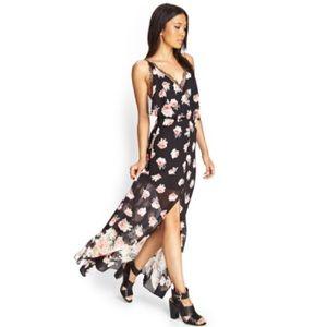 forever 21 lace maxi dress on Poshmark