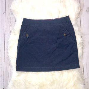 Vineyard Vines Dresses & Skirts - VV Vineyard Vines Corduroy Navy Mini Skirt 4