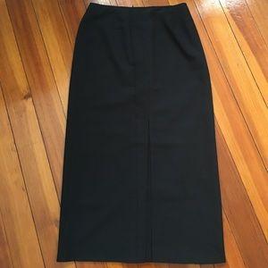 Petite Sophisticate Dresses & Skirts - Black Midi Skirt