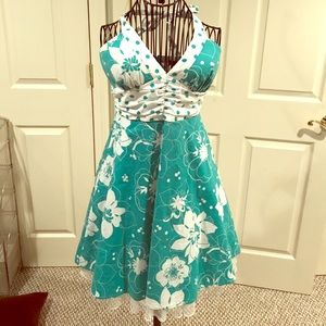 Ruby Rox Dresses & Skirts - Ruby Rox Halter Dress Bombshell Sz 3 Rockabilly