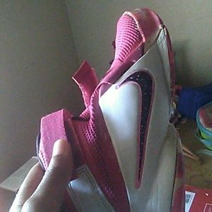 80%20 Other - Pink in white Lebrons