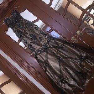 Terani Couture Dresses & Skirts - Bronze mermaid dress