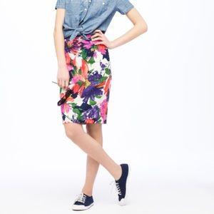 J. Crew Factory Dresses & Skirts - Garden Floral Pencil Skirt