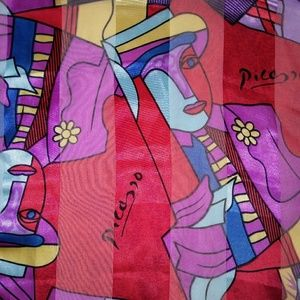 PICASSO Silky Long Scarf