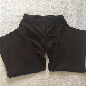 Classic wide leg trousers