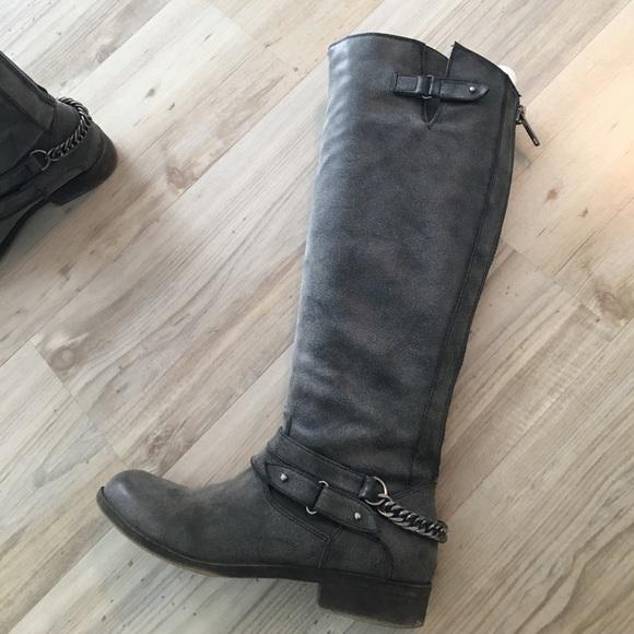 1781cb61079 Madden Girl Shoes - Madden Girl Canyon Black Pari tall boot