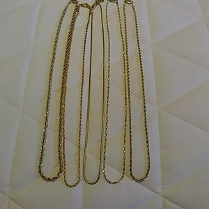 Jewelry - Goldplated Chains