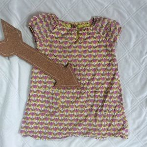 Pink Chicken Other - 🆕PINK CHICKEN PINK AND YELLOW FLORAL DRESS SIZE 6