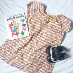 Pink Chicken Other - PINK CHICKEN PINK AND YELLOW FLORAL DRESS SIZE 6