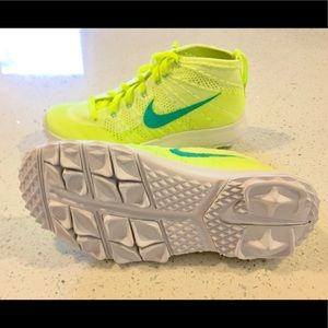 7740743837 Nike Shoes - NWOB NIKE WOMENS FLYKNIT CHUKKA GOLF SHOES