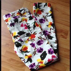 Vanilla Star Denim - Like New Floral Jeans