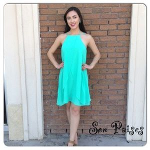 Mint Dress-Clearance