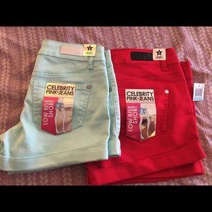 Celebrity Pink Pants - Celebrity Pink Jeans shorts