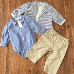 Children's Place Other - NWT • Children's Place Boys 3 PC Suit • 6-9 Months