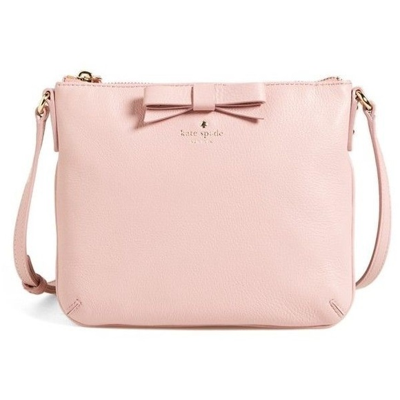 kate spade Bags | Authentic Bow Tensley Purse In Pink ...
