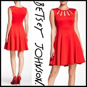 Betsey Johnson Dresses & Skirts - ❗️1-HOUR SALE❗️BETSEY JOHNSON DRESS Fit-and-Flare
