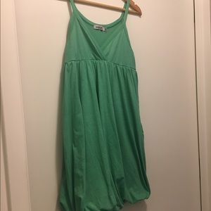 Saint Grace Green Dress