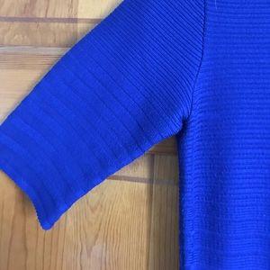 Ivanka Trump Dresses - Blue formal sweater dress