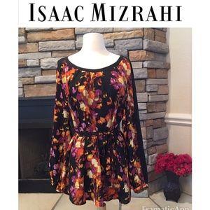 Isaac Mizrahi Tops - Floral Tunic/Dress