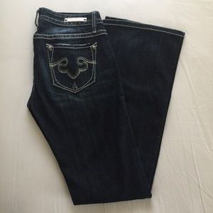 Express Denim - Rerock for EXPRESS Boot Cut Jeans - Size 2R