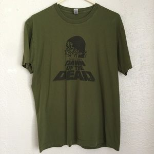 AA Dawn of the Dead tee George Romero zombie cult