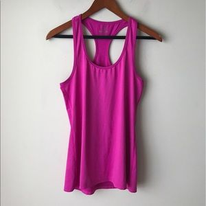 Danskin Now Tops - Fuchsia colored athletic top